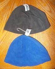 Boys Size  Large/XL Old Navy Brand Blue & Dark Gray Fleece Hats Lot Of 2 NWT