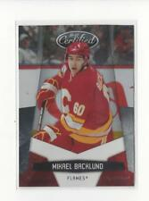 2010-11 Certified Platinum Red #24 Mikael Backlund Flames /999