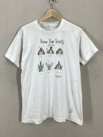 Vintage 1986 The Far Side Know Your Insects Funny Humor T-Shirt Sz M