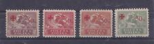 Polonia 1919Polonia 1921 Croce Rossa 154-57 mnh