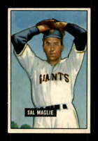 1951 Bowman #127 Sal Maglie EXMT+ RC Rookie NY Giants 401514