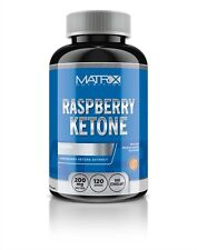 PURE RASPBERRY KETONES WEIGHT LOSS 120 TABLETS MATRIX NUTRITION