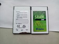 PRETEC 2MB PCMCIA SRAM Card+EXTRA NEW BATTERY
