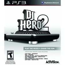 DJ Hero 2  Freestyle Mix Multiplayer Game Sony Playstation Network PS3 Game Only