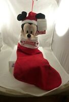 Mickey Mouse Disney Merry Christmas stocking Musical deck the halls