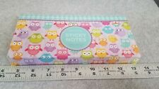 Owl Sticky Notes Page Markers Colored Index Tabs Flags Bundle Set