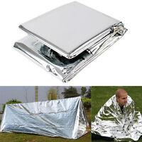 PET Folding Outdoor Emergency Survival Tent/Blanket/Sleeping Bag Camping Shelter