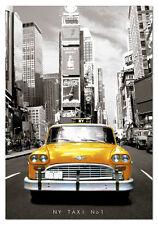 PUZZLE 1000 PIEZAS TEILE PIECES - TAXI NUMBER 1 NEW YORK - EDUCA 14468