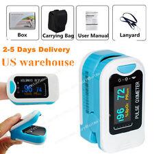 Finger Tip Pulse Oximeter Blood Oxygen SpO2 PR Monitor Meter FDA CE US Seller.