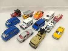 Lot of 13 Majorette Car, Trucks, Fire Truck, Police, and Others