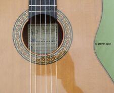 4/4 Konzert-Gitarre CHD Hellweg Hopf CS-36 Zeder massiv hochwertig klangvoll Top