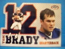 2002 Tom Brady Pacific Heads Update Big Numbers
