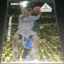 Chris Paul 2014-15 Panini Paramount DUFEX GOLD Parallel Card (#'d 08/10)