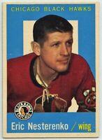 1959-60 Topps Hockey #1 Eric Nesterenko VG-EX Condition (2020-13)