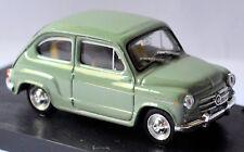 Fiat 600 D Berline 1960 Verde 361 Vert 1:43 Brumm