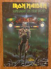 """Vintage IRON MAIDEN """"Somewhere On Tour 86/87"""" Tour Book"""