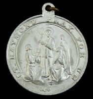 Vintage St Raymond Saint Serapion Medal Patrons of Arthritis and Mothers