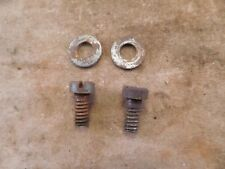 Pair (2) Stanley Bailey No. 3 to No. 8 Frog Seat Screws with Washers (BIN3)