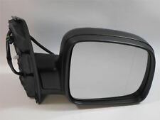 VW Caddy Mk3 2010-> Door Wing Mirror Electric Black O/S Driver Right