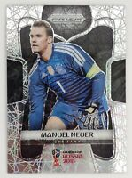 2018 Panini Prizm World Cup Soccer Manuel Neuer Card