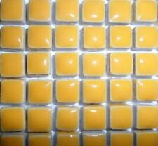 81 Mini Azulejos de mosaico de cerámica glaseada 10 Mm-Curry