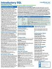 Introductory SQL Training Guide Quick Reference Card 4 Page Cheat Sheet Help