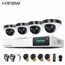 1080P HD Security Camera System 4CH 1080N CCTV DVR KIT 2.0MP Dome Video Cameras