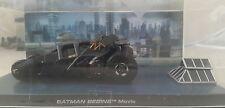 Eaglemoss Batmobile Batman Begins Batmobile 2012 BATMAN BEGINS Movie