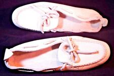 Antique Kodiak By Greb Size 60 White Deerhide Mocassins Barely Used Shoes Rare