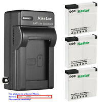 Kastar Battery Wall Charger for Xiaomi YI AZ13 AZ13-1 & Xiaomi Yi Action Camera