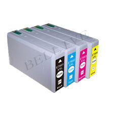 4 CARTUCCE COMPATIBILE PER EPSON WF5620DWF WF5110DW WF5690DWF 5190DW BL