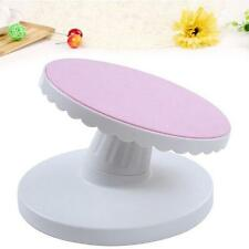 Rotating Revolving Decorating Stand Cake Icing Sugarcraft Turntable Platform B