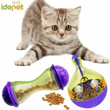 Pet Dog Fun Bowl Feeder Cat Feeding Toys Pets Tumbler Leakage Food Ball Training