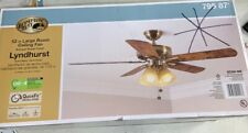"Hampton Bay Lyndhurst 52"" Large Room Large Room Ceiling Fan with Light Kit"