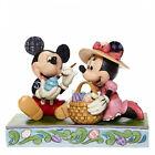 EASTER ARTISTRY Mickey & Minnie Figur Jim Shore 6008319 Ostern Picknick Enesco
