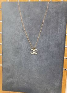 Authentic Chanel Crystal Charm Necklace *Read*