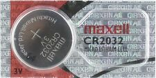Maxell CR2032 Lithium Battery. Hologram Package 3V. (Pack of 1)