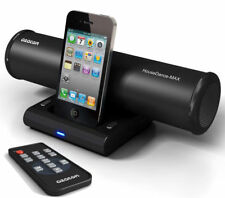 Azatom House Dance Black 24-Watt Docking Station Speaker with Remote Control for iPod iPhone