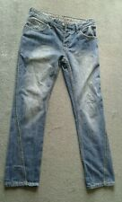 Gents Denim Jeans HENLEYS  Silver lion Size 32R - 32 Waist 31 inside leg