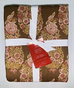 NWT Pottery Barn Sabyasachi Maharani Floral Linen Blend Duvet Cal King SOLD OUT!
