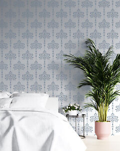 Damask Stencil Floral French Allover Paint Wall Furniture Reusable Craft Art DA5
