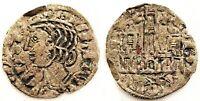 España-Alfonso XI (1312-1350) Cornado. Leon. MBC+/VF+. Vellon 0,6 g