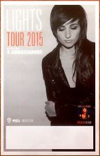 LIGHTS Little Machines Tour 2015 Ltd Ed RARE New Poster +FREE Indie/Rock Poster