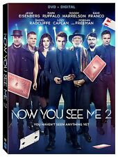 Now You See Me 2 [DVD + Digital], New, Free Shipping