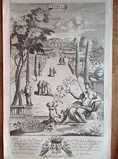 The Gentleman Recreation FLORE efflorescence céréales 1686 RICHARD BLOME