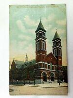 Vintage Postcard 1912 St. Elizabeth Catholic Church Detroit MI Michigan
