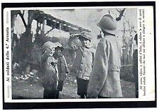 """WW1 Franchigia, Propaganda - """"Soldati della 4° Armata"""" - Viaggiata P.M. - FR086"""
