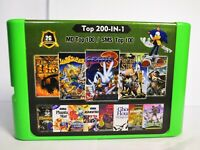 2G Game Card 200 in 1 For Sega Megadrive 100 Top GEN Games 100 Top Master System