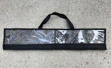 """Custom Offshore Tackle Spreader Bar Bag 30"""" x 6"""" Lure Dredge Storage - Black"""