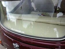 Conception de la Plage arrière-La gamme gainée de Cuir simili-Mini Austin Cooper